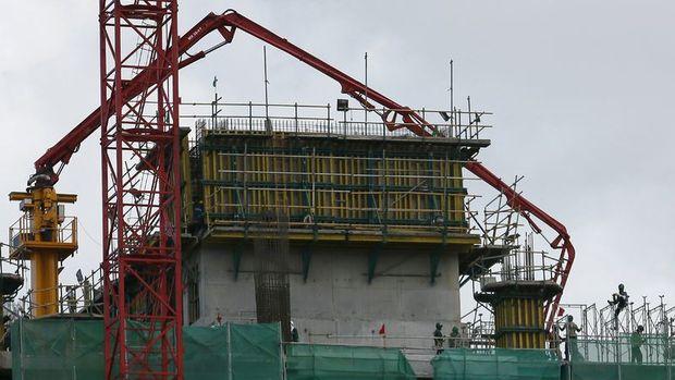 Avrupa'da inşaat üretimi arttı