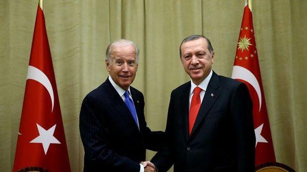 Cumhurbaşkanı Erdoğan Biden'ı kabul etti