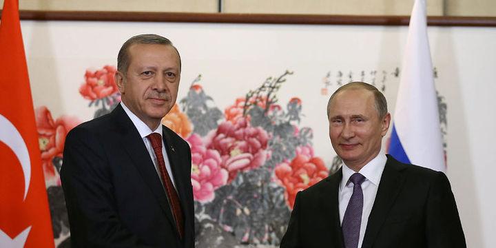 Erdoğan, Putin ile Suriye konusunda görüştü