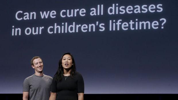 Facebook'un kurucusu Zuckerberg'den 3 milyar dolarlık sağlık bağışı