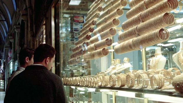 Altının gramı fiyatı 126 lira seviyelerinde