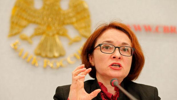 Rusya MB/Nabiullina: Rus ekonomisinde iç faktörler en temel sorun
