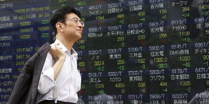 """Asya hisseleri """"finans"""" sektörü öncülüğünde düştü"""