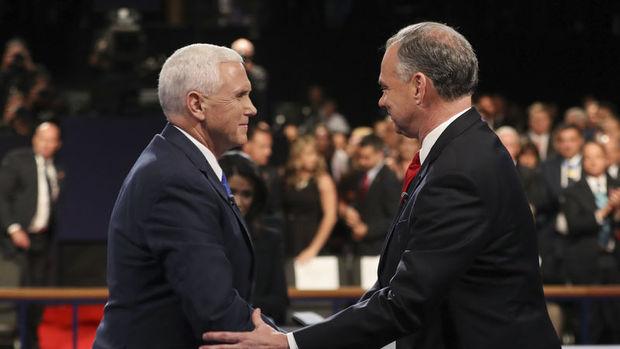 ABD'de başkan yardımcısı adayları televizyonda tartıştı