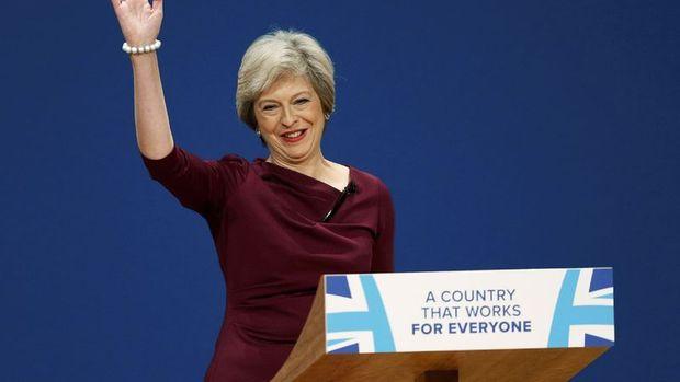 May: Brexit'in ardından küresel Britanya'yı inşa edeceğiz