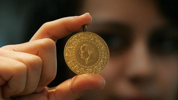 Gram altın 124,2 liraya geriledi