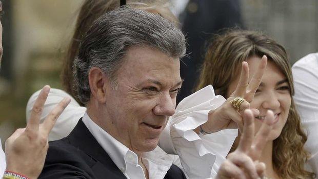 Nobel Barış Ödülü Kolombiya Devlet Başkanı Santos'un oldu