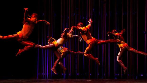 Cirque Du Soleil'in tırlarına el konuldu