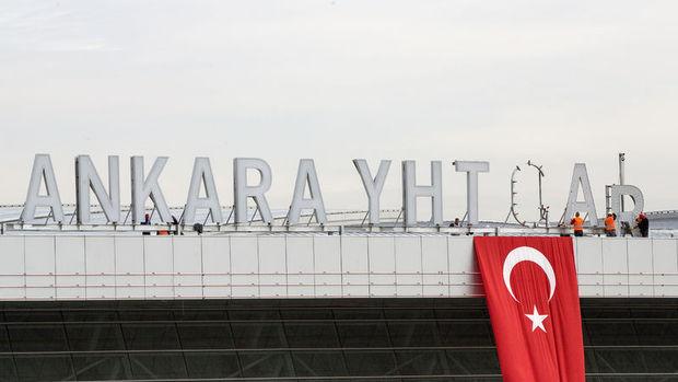 Ankara Yüksek Hızlı Tren (YHT) Garı 29 Ekim'de hizmete açılıyor