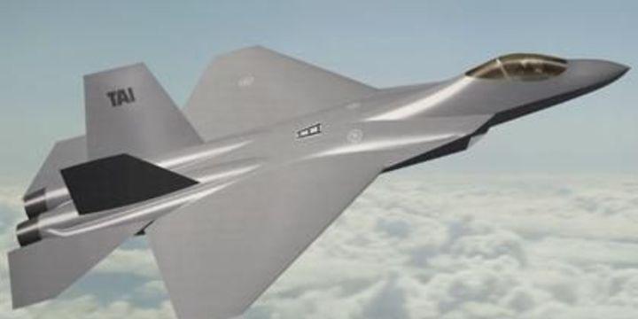 Yeni savaşan şahin milli uçak TF-X