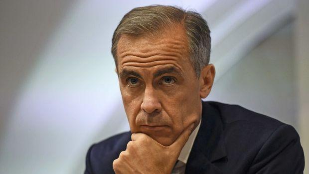 Carney: Sterlindeki düşüş ekonominin serbestliğine dair endişenin yansıması