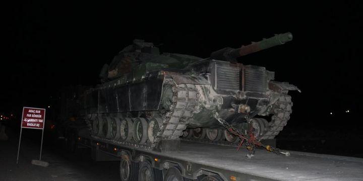 Tanklar ve zırhlı araçlar Silopi