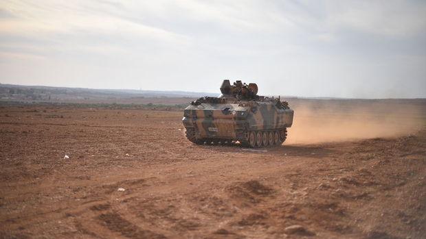 TSK: Fırat Kalkanı Harekatı'nda 1.720 kilometrekare alanda kontrol sağlandı