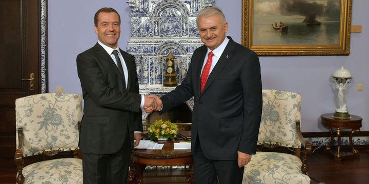 Yıldırım: Rusya ile ilişkileri Kasım 2015