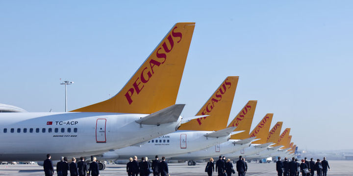 Pegasus 40 yeni rota için izin bekliyor