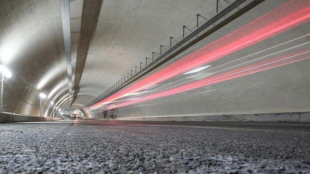 Sahil yolundaki 'Avrasya Tüneli' düzenlemesi bitti