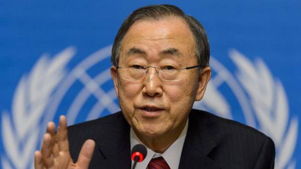 BM Genel Sekreteri Ban: BM Suriye'de başarısız oldu