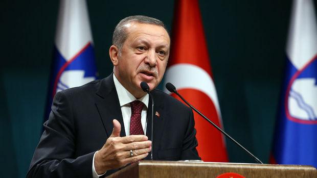 Erdoğan: Milli seferberlik ruhu ile mücadele edeceğiz