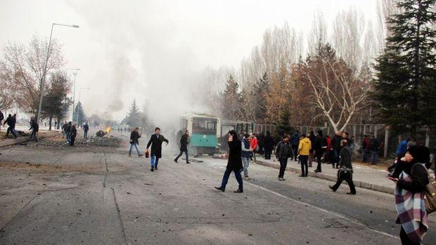 Kayseri'de patlama: 13 şehit