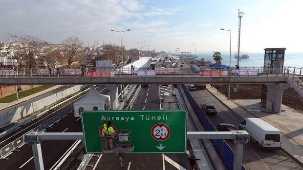 Avrasya Tüneli bugün hizmete açılıyor