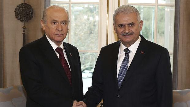 Başbakan Yıldırım ile MHP lideri Bahçeli bir araya gelecek