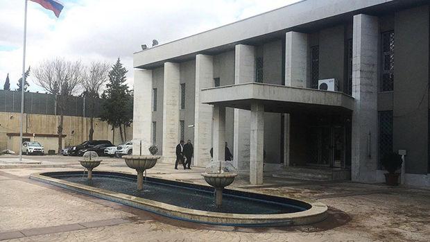 Şam'daki Rusya Büyükelçiliği'ne havan mermisi