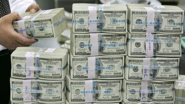 Merkez'in brüt rezervleri 95.7 milyar dolara indİ