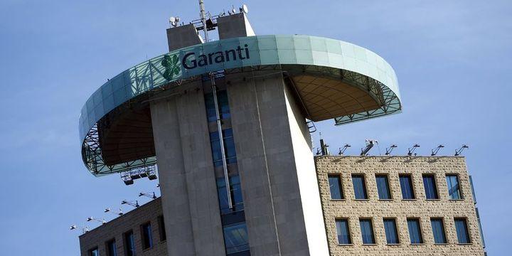 Garanti Bankası 410 milyon TL alacağını 17 milyon TL