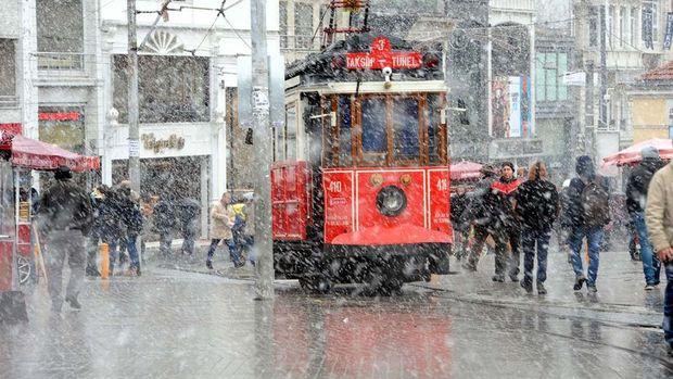 İstanbul'da yarın akşam için kar alarmı