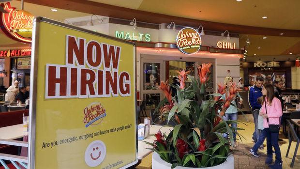 ABD'de işsizlik maaşı başvuruları 8 haftanın en düşük seviyesinde