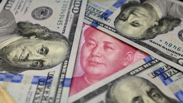 "Offshore yuan ""PBOC"" ile rekordan döndü"