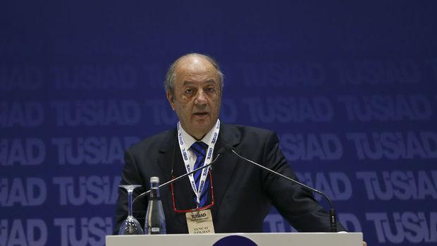 TÜSİAD/Özilhan: Enflasyon artıyor,  üretim geriliyor, işsizlik yüksek