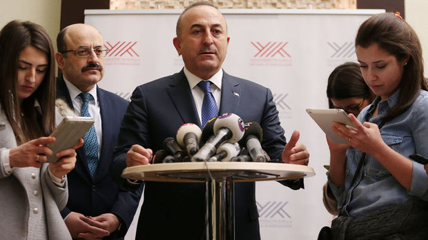 Dışişleri Bakanı Çavuşoğlu, Washington'da Flynn ile görüştü
