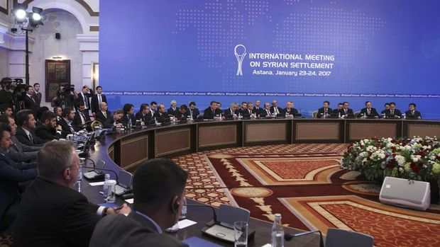 Astana'daki toplantıda