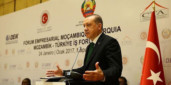 Erdoğan: Biz Afrika