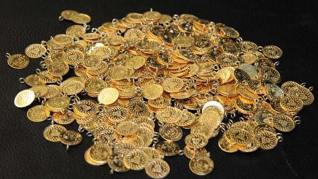 Gram altın % 0.4 düşerek 146.6 liraya indi