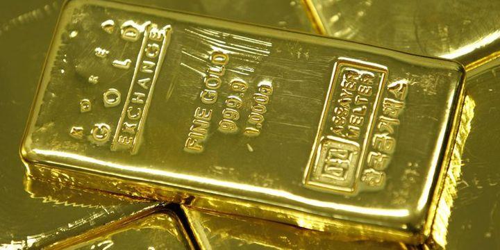Altın hisse ve tahvil faizlerindeki yükselişle geriledi