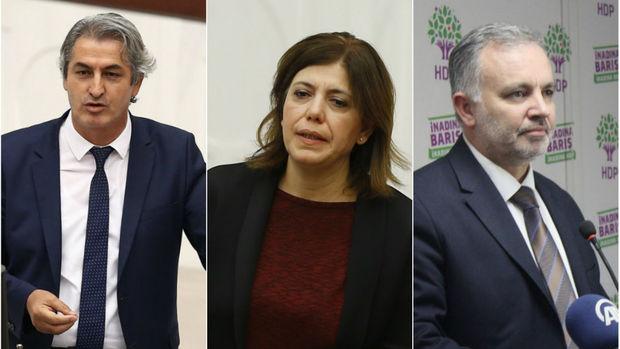 HDP'li 3 vekil gözaltına alındı