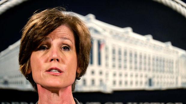 Trump Adalet Bakanı Vekili Yates'i görevden aldı