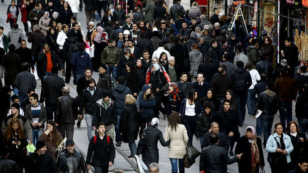 Türkiye'nin nüfusu 2016'da 79.81 milyona yükseldi