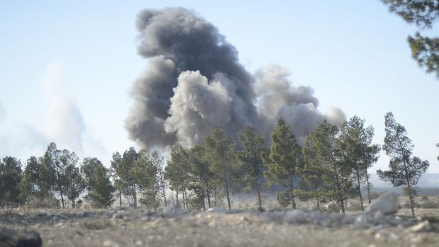 TSK: Rus savaş uçağı kazaen TSK unsurlarını vurdu