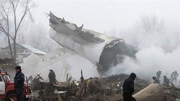 Kazakistan'a düşen Türk kargo uçağına 38 milyon dolar ödenecek