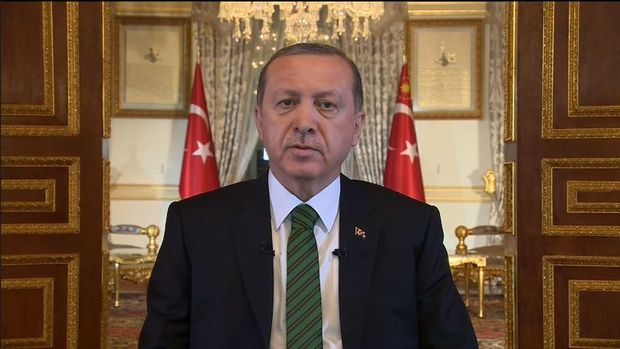 Erdoğan: İşiniz gücünüz Tayyip Erdoğan, biz sistem mücadelesi veriyoruz
