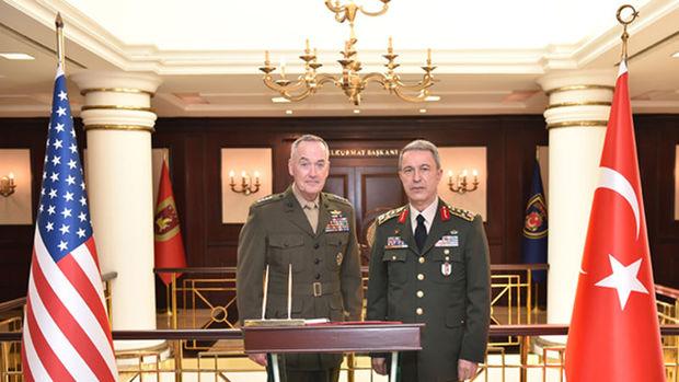 ABD Genelkurmay Başkanı Dunford Türkiye'ye geldi