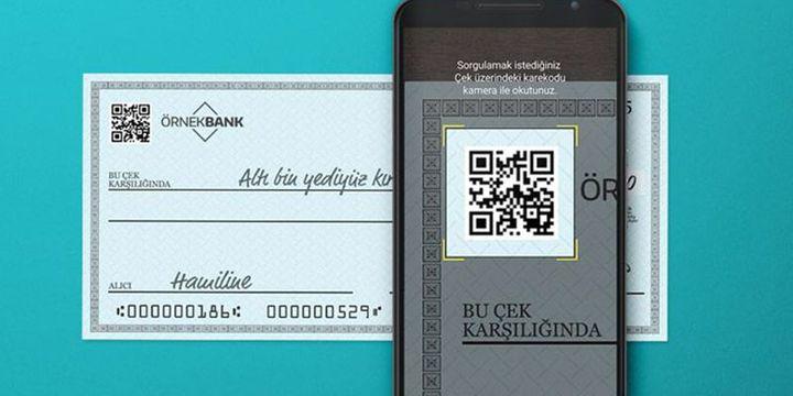 Karekodlu çek kullanımı 3,5 milyonu geçti