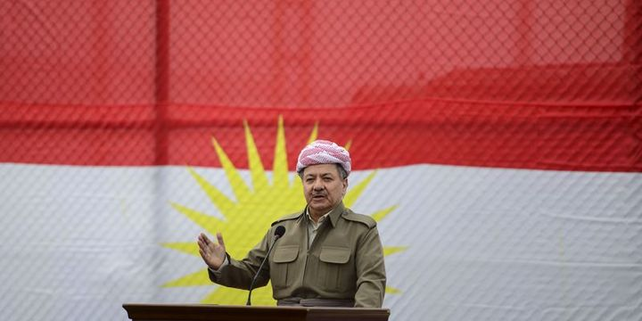 IKBY Başkanı Barzani Türkiye