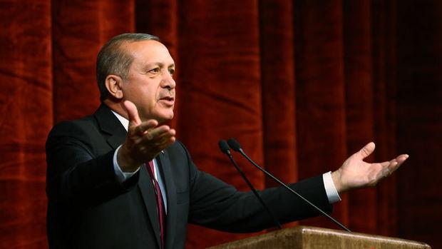 Erdoğan: Almanya'nın uygulamaları geçmişteki Nazi'den farklı değil