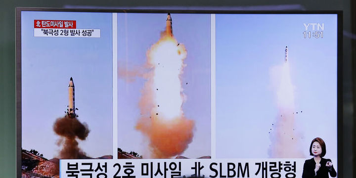 Kuzey Kore dört füze fırlattı