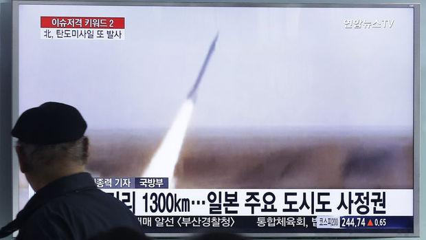 Kuzey Kore'nin füze tatbikatının hedefi ABD üsleriymiş