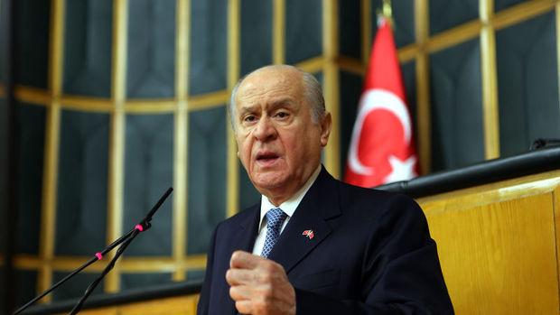 Bahçeli: Erdoğan Avrupa'ya giderse onu yalnız bırakmayacağım